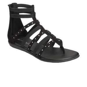 Aerosoles Nuchlear Gladiator Sandals Black 6.5